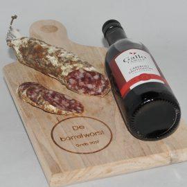 Saucisson Rode Wijn Sjalot